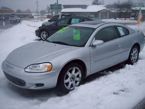 2002 Chrysler Sebring for sale at Shaw Motor Sales in Kalkaska MI