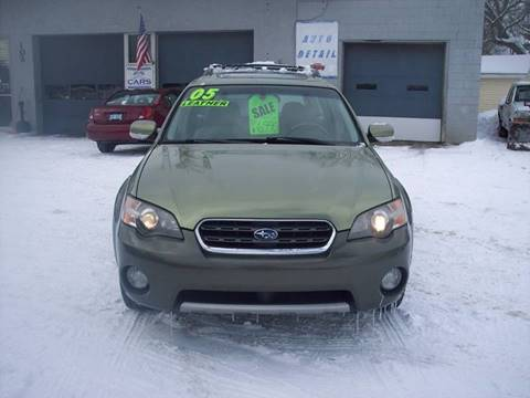 2005 Subaru Outback for sale at Shaw Motor Sales in Kalkaska MI