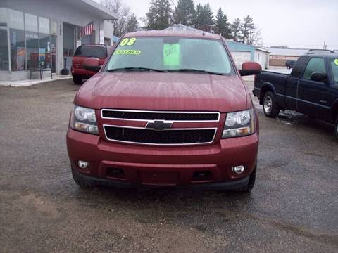 2008 Chevrolet Tahoe for sale at Shaw Motor Sales in Kalkaska MI