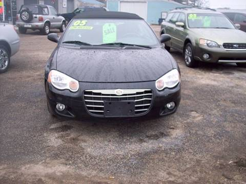 2005 Chrysler Sebring for sale at Shaw Motor Sales in Kalkaska MI