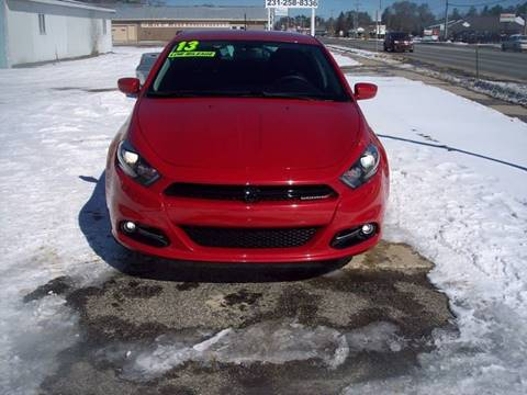 2013 Dodge Dart for sale at Shaw Motor Sales in Kalkaska MI