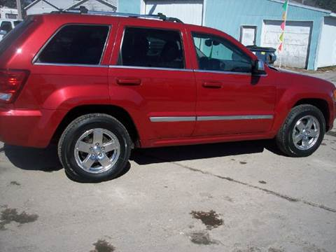 2006 Jeep Grand Cherokee for sale at Shaw Motor Sales in Kalkaska MI