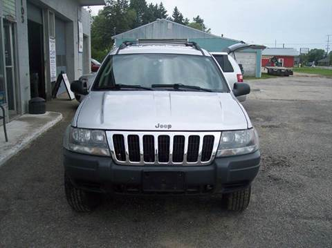 2003 Jeep Grand Cherokee for sale at Shaw Motor Sales in Kalkaska MI