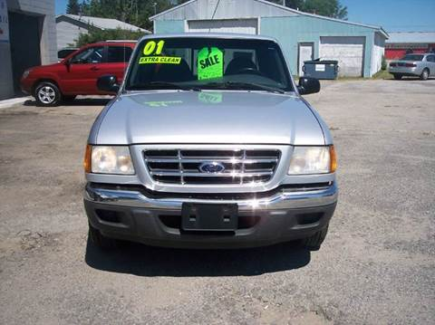 2001 Ford Ranger for sale at Shaw Motor Sales in Kalkaska MI