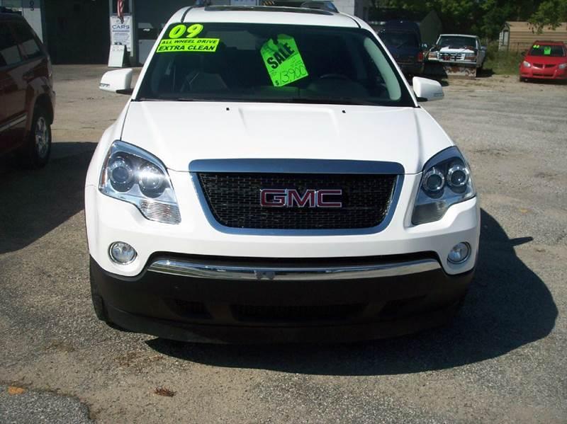 2009 GMC Acadia for sale at Shaw Motor Sales in Kalkaska MI