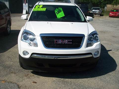 2009 GMC Acadia for sale at Shaw Motor Sales in Kalkaska MI