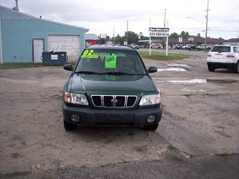 2002 Subaru Forester for sale at Shaw Motor Sales in Kalkaska MI