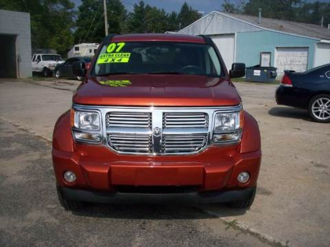 2007 Dodge Nitro for sale at Shaw Motor Sales in Kalkaska MI