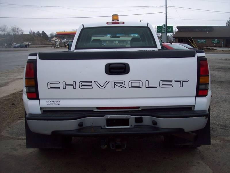 2007 Chevrolet Silverado 3500 Classic LS 4dr Crew Cab LB DRW - Kalkaska MI