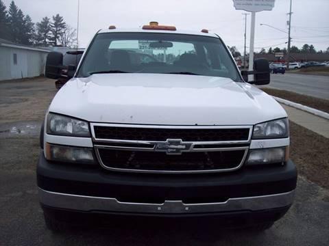 2007 Chevrolet Silverado 3500 Classic for sale at Shaw Motor Sales in Kalkaska MI
