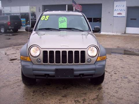 2005 Jeep Liberty for sale at Shaw Motor Sales in Kalkaska MI