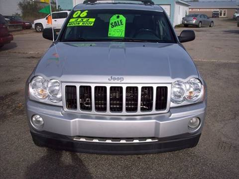 2006 Jeep Grand Cherokee for sale at Shaw Motor Sales in Kalkaska MI