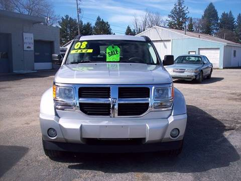 2008 Dodge Nitro for sale at Shaw Motor Sales in Kalkaska MI