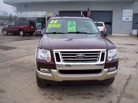 2006 Ford Explorer for sale at Shaw Motor Sales in Kalkaska MI