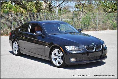 2010 BMW 3 Series for sale at MIAMI IMPORTS in Miami FL