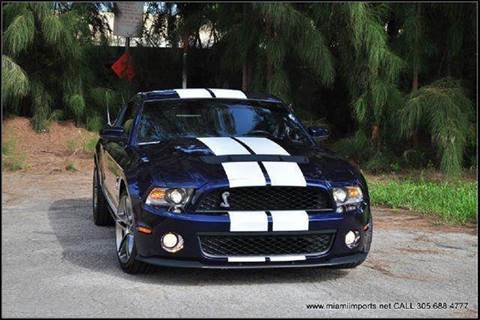 2011 Ford Mustang for sale at MIAMI IMPORTS in Miami FL