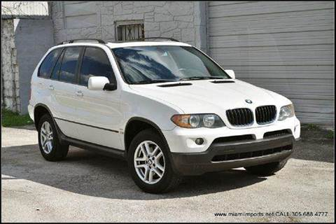 2005 BMW X5 for sale at MIAMI IMPORTS in Miami FL