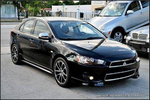 2010 Mitsubishi Lancer Sportback for sale at MIAMI IMPORTS in Miami FL
