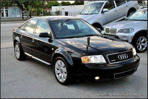 2000 Audi A6 for sale at MIAMI IMPORTS in Miami FL