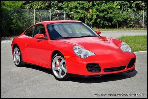 2003 Porsche 911 for sale at MIAMI IMPORTS in Miami FL