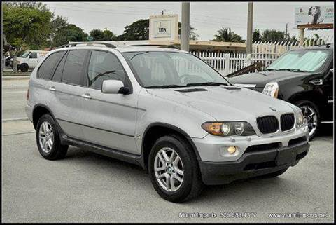 2006 BMW X5 for sale at MIAMI IMPORTS in Miami FL