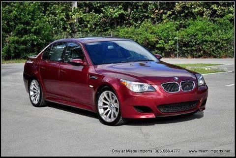 2006 BMW M5 for sale at MIAMI IMPORTS in Miami FL