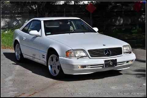 2000 Mercedes-Benz SL-Class for sale at MIAMI IMPORTS in Miami FL