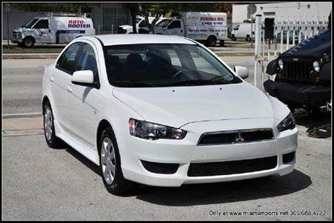 2014 Mitsubishi Lancer for sale at MIAMI IMPORTS in Miami FL