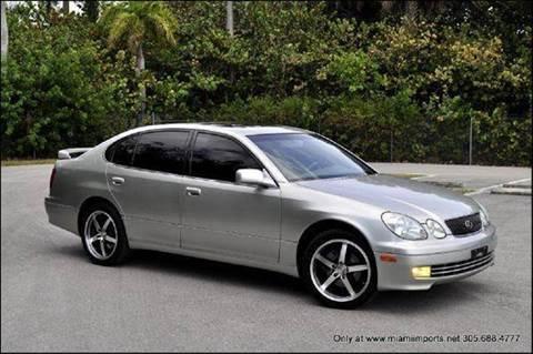 2004 Lexus GS 300 for sale at MIAMI IMPORTS in Miami FL