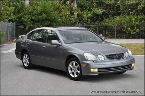 2001 Lexus GS 300 for sale at MIAMI IMPORTS in Miami FL
