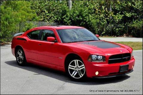 2006 Dodge Charger for sale at MIAMI IMPORTS in Miami FL