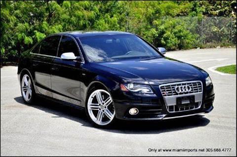 2010 Audi S4 for sale at MIAMI IMPORTS in Miami FL