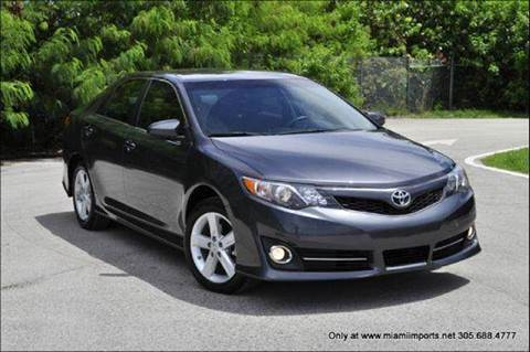 2013 Toyota Camry for sale at MIAMI IMPORTS in Miami FL