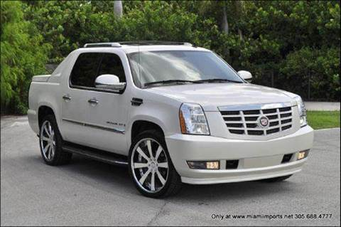 2007 Cadillac Escalade EXT for sale at MIAMI IMPORTS in Miami FL