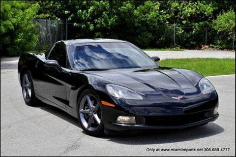 2010 Chevrolet Corvette for sale at MIAMI IMPORTS in Miami FL