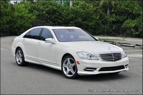 2010 Mercedes-Benz S-Class for sale at MIAMI IMPORTS in Miami FL