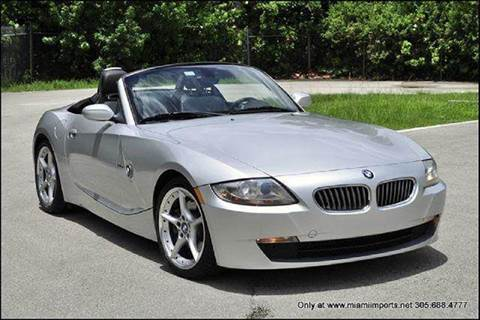 2006 BMW Z4 for sale at MIAMI IMPORTS in Miami FL