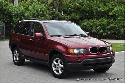 2002 BMW X5 for sale at MIAMI IMPORTS in Miami FL