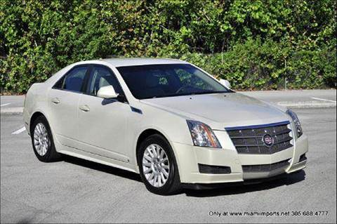 2010 Cadillac CTS for sale at MIAMI IMPORTS in Miami FL