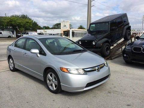 2007 Honda Civic for sale at MIAMI IMPORTS in Miami FL