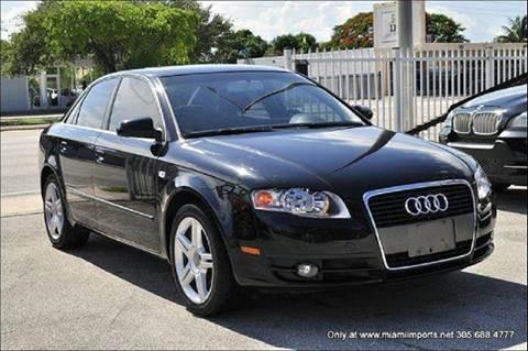 2007 Audi A4 for sale at MIAMI IMPORTS in Miami FL