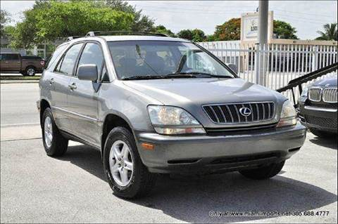 2002 Lexus RX 300 for sale at MIAMI IMPORTS in Miami FL