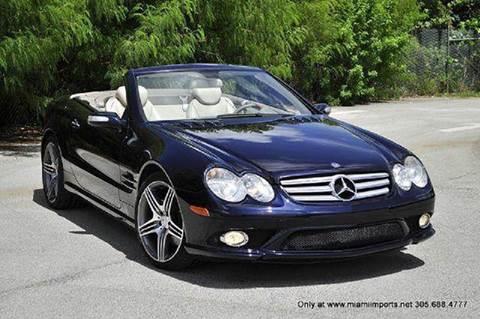 2007 Mercedes-Benz SL-Class for sale at MIAMI IMPORTS in Miami FL