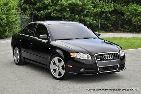 2006 Audi A4 for sale at MIAMI IMPORTS in Miami FL