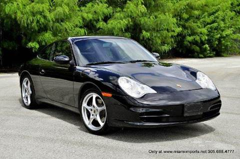 2002 Porsche 911 for sale at MIAMI IMPORTS in Miami FL