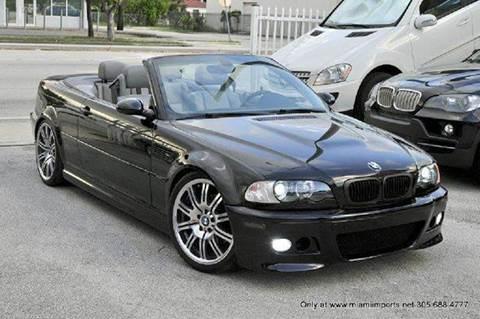 2001 BMW M3 for sale at MIAMI IMPORTS in Miami FL