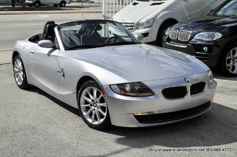 2007 BMW Z4 for sale at MIAMI IMPORTS in Miami FL
