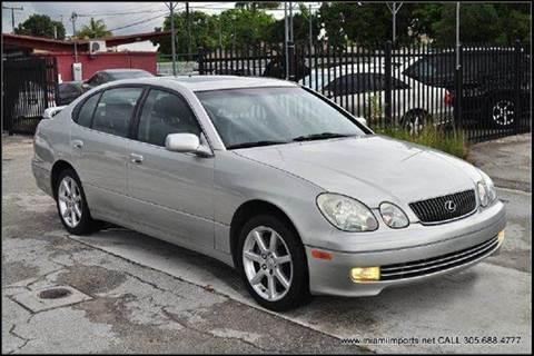 2003 Lexus GS 430 for sale at MIAMI IMPORTS in Miami FL