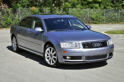 2005 Audi A8 for sale at MIAMI IMPORTS in Miami FL