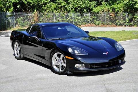 2007 Chevrolet Corvette for sale at MIAMI IMPORTS in Miami FL